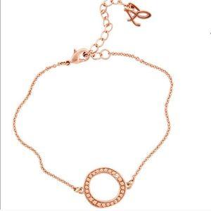 Adore By Swarovski Rose Gold Circle Bracelet